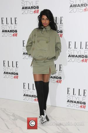 M.I.A - A host of celebrities were photographed as they arrived at the ELLE Style Awards 2015 which were held...