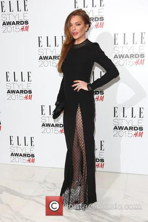 Lindsay Lohan - A host of celebrities were photographed as they arrived at the ELLE Style Awards 2015 which were...