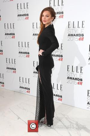 Lindsay Lohan - The ELLE Style Awards 2015 held at the Walkie Talkie building - Arrivals - London, United Kingdom...