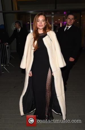 Lindsay Lohan - The 2015 Elle Style Awards - Departures at Elle Style Awards - London, United Kingdom - Tuesday...