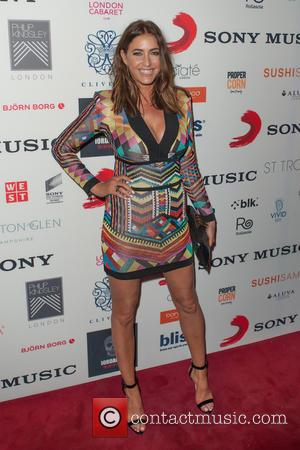 Lisa Snowdon - A variety of celebrities were photographed as they attended the BRIT Awards 2015 Sony after party which...