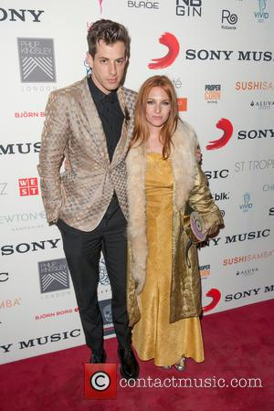 Mark Ronson and Josephine De La Baume - A variety of celebrities were photographed as they attended the BRIT Awards...