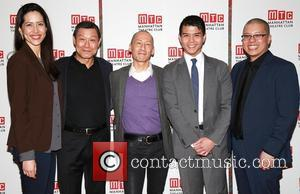 Frances Ya-chu Cowhig, James Saito, Francis Jue, Telly Leung and Eric Ting