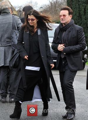 Ali Hewson and Bono
