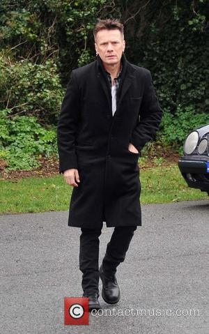 Larry Mullen Jr. - The Funeral of Rev.Jack Heaslip at St.Mary's Church Howth. Rev.Heaslip was U2's chaplin and travelled around...