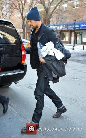 Josh Duhamel - Josh Duhamel returning to his hotel in New York City - Manhattan, New York, United States -...
