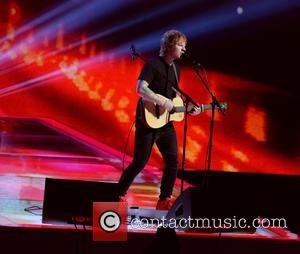 Ed Sheeran - The Brit Awards 2015 (Brits) held at the O2 - Performance at The Brit Awards - London,...