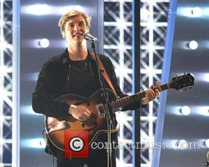 George Ezra - Shots of the performances from the Brit Awards 2015 which were held at the O2 Arena in...
