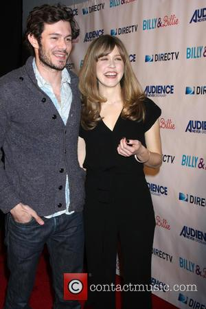 Adam Brody and Lisa Joyce