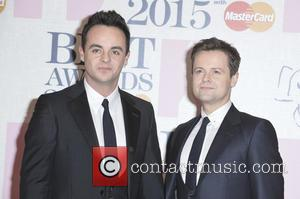 Anthony McPartlin and Declan Donnelly - A variety of stars from the music industry were photographed as they arrived at...