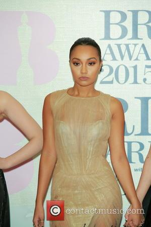 Leigh-Anne Pinnock of Little Mix - A variety of stars from the music industry were photographed as they arrived at...