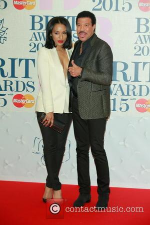 Lionel Richie and Lisa Parigi - A variety of stars from the music industry were photographed as they arrived at...