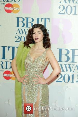 Marina Diamandis - A variety of stars from the music industry were photographed as they arrived at the Brit Awards...