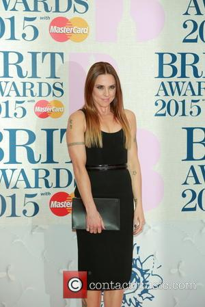 Melanie Chisholm - A variety of stars from the music industry were photographed as they arrived at the Brit Awards...