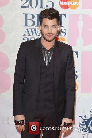 Adam Lambert - The Brit Awards 2015 at the O2 Arena - Arrivals at O2 Arena, The Brit Awards -...