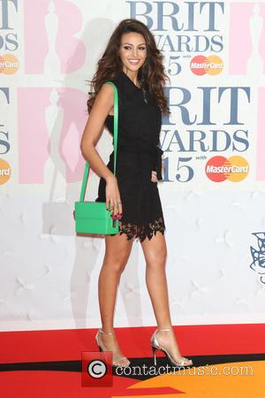 Michelle Keegan - The Brit Awards 2015 at the O2 Arena - Arrivals at O2 Arena, The Brit Awards -...