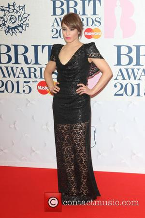 Noomi Rapace - The Brit Awards 2015 at the O2 Arena - Arrivals at O2 Arena, The Brit Awards -...