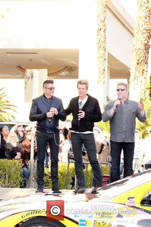 Jay Demarcus, Joe Don Rooney, Gary Levox and Rascal Flatts