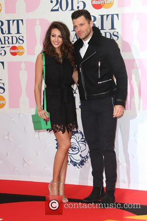 Michelle Keegan and Mark Wright - A variety of stars from the music industry were photographed as they arrived at...