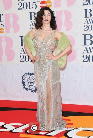 Marina Diamandis, Marina and the Diamonds - A variety of stars from the music industry were photographed as they arrived...