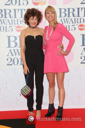 Sara Cox and Annie Mac - A variety of stars from the music industry were photographed as they arrived at...