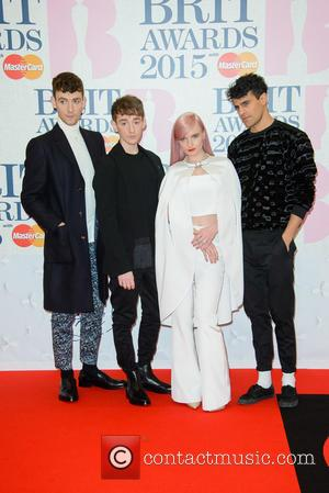 Clean Bandit - A variety of stars from the music industry were photographed as they arrived at the Brit Awards...
