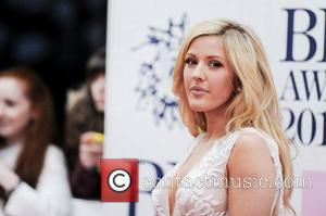 Ellie Goulding - A variety of stars from the music industry were photographed as they arrived at the Brit Awards...
