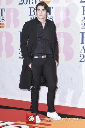 RJ Mitte - A variety of stars from the music industry were photographed as they arrived at the Brit Awards...