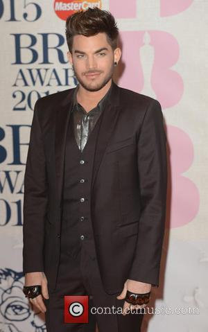 Adam Lambert - BRIT Awards 2015 at the O2 Arena - Red Carpet Arrivals - London, United Kingdom - Wednesday...
