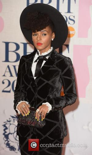 Janelle Monae - BRIT Awards 2015 at the O2 Arena - Red Carpet Arrivals - London, United Kingdom - Wednesday...