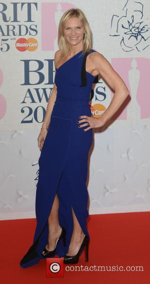 Jo Whiley - BRIT Awards 2015 at the O2 Arena - Red Carpet Arrivals - London, United Kingdom - Wednesday...