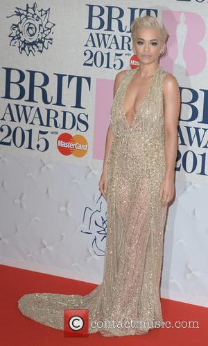 Rita Ora - BRIT Awards 2015 at the O2 Arena - Red Carpet Arrivals - London, United Kingdom - Wednesday...