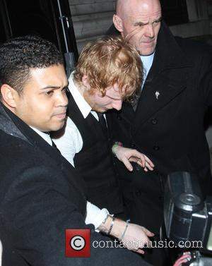 Ed Sheeran - The Brit Awards 2015 (Brits) - Afterparty at Freemasons Hall - Departures at The Brit Awards -...