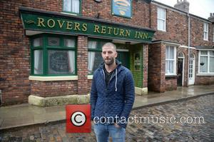 Darcy Oake - Britain's Got Talent magician finalist Darcy Oake paid a visit to the old cobbles on the set...