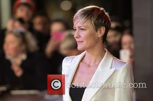 Robin Wright - House Of Cards - UK TV premiere held at the Empire Leicester Square, Arrivals. at Empire Leicester...