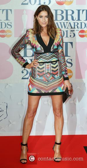 Lisa Snowdon - The Brit Awards at the O2 - Arrivals at The Brit Awards - London, United Kingdom -...