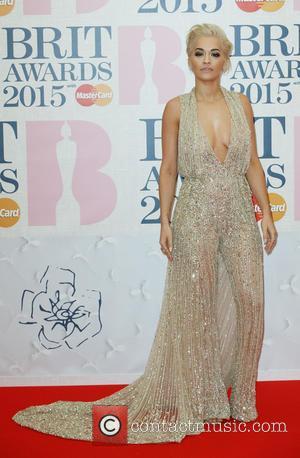 Rita Ora - The Brit Awards at the O2 - Arrivals at The Brit Awards - London, United Kingdom -...
