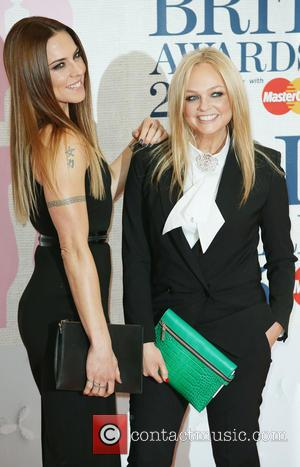 Melanie Chisholm, Emma Bunton and mel c - The Brit Awards at the O2 - Arrivals at The Brit Awards...