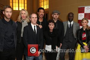 Calvin Harris, Lisa Stansfield, Sara Dallin, Lionel Richie, Ozwald Boateng, Boy George, David Thomas and Emilia Fox - Photocall for...
