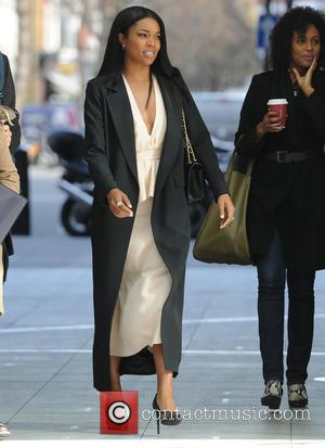 Gabrielle Union - Gabrielle Union seen out and about in London - London, United Kingdom - Friday 27th February 2015