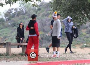 Miley Cyrus, Nicole Richie and Patrick Schwarzenegger