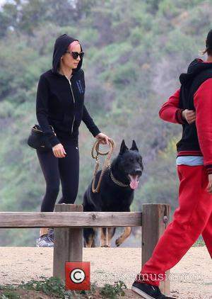 Nicole Richie - Miley Cyrus, Nicole Richie, and Patrick Schwarzenegger spotted together at Runyon Canyon in Hollywood Hills at Runyon...