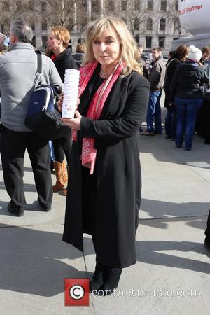 Helen Lederer - Celebs attend Photocall for Red Nose Day, Trafalger Square, London at Trafalger Square - London, United Kingdom...