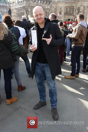Jake Wood - Celebs attend Photocall for Red Nose Day, Trafalger Square, London at Trafalger Square - London, United Kingdom...