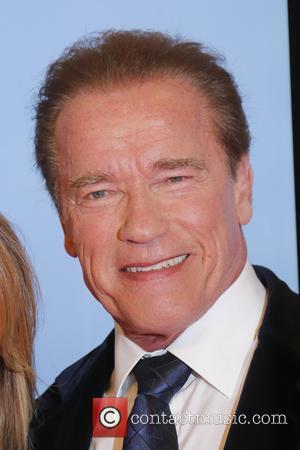 Arnold Schwarzenegger - Shots of a host of stars as they arrive for the annual German Goldene Kamera Awards 2015...