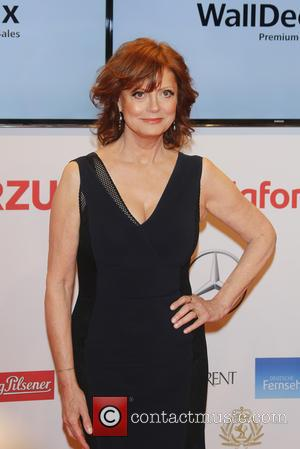 Susan Sarandon - Shots of a host of stars as they arrive for the annual German Goldene Kamera Awards 2015...