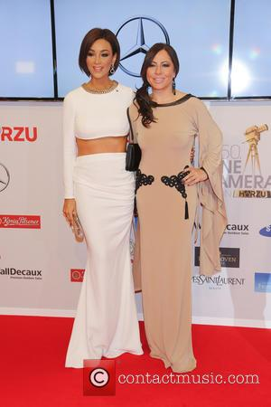 Verona Pooth and Simone Thomalla - Shots of a host of stars as they arrive for the annual German Goldene...