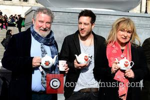Helen Lederer, Paul Bradley and Matt Cardle