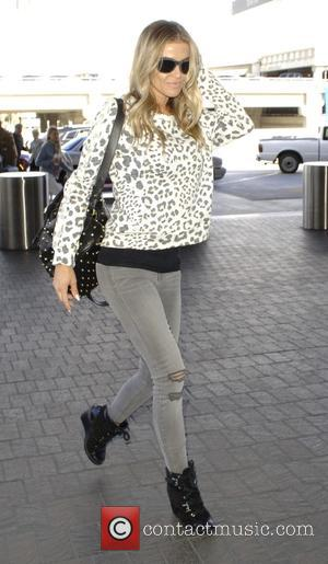 Carmen Electra - Carmen Electra arrives at Los Angeles International Airport (LAX) for a flight. at lax - Los Angeles,...