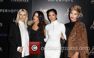 Lauren Bennett, Emmalyn Estrada, Natasha Slayton and Paula Van Oppen